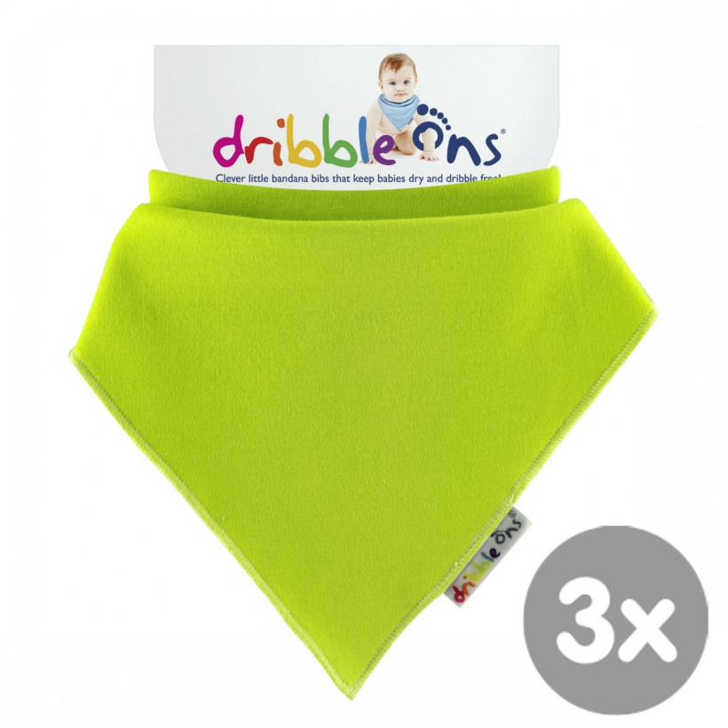 Dribble Ons Bright - Lime 3x1szt. (Hurtowe opak.)