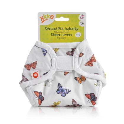 Otulacze XKKO Newborn - Butterflies