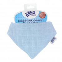 Bandanka XKKO Organic Stare Czasy - Sky Blue 3x1szt. (Hurtowe opak.)