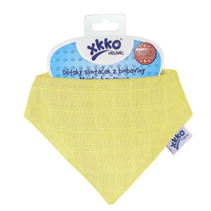 Bandanka XKKO Organic Stare Czasy - Wax Yellow