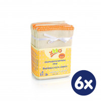 Prefoldy XKKO Classic (4/8/4) - Infant Natural 6x6szt. (Hurtowe opak.)