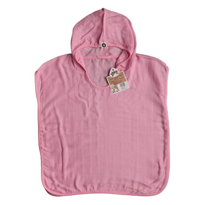Ponczo bambusowe XKKO BMB - Baby Pink
