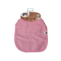Bambusowy śliniak XKKO BMB - Baby Pink 3x1szt. (Hurtowe opak.)