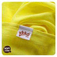 Bambusowe pieluchy XKKO BMB 70x70 - Lemon 10x3st. (Hurtowe opak.)
