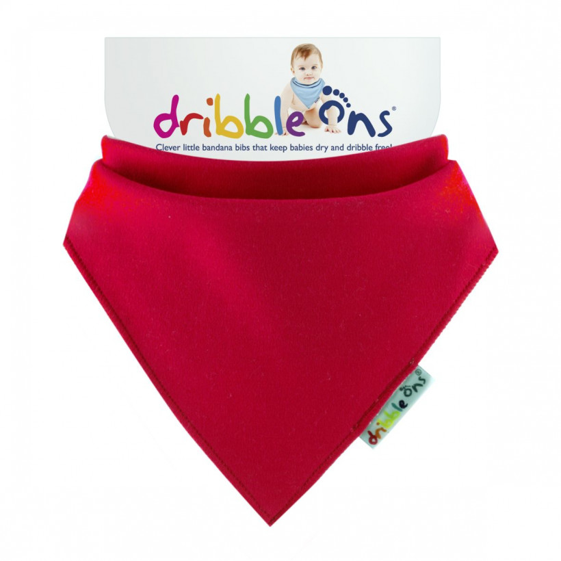 Dribble Ons Brights - Red