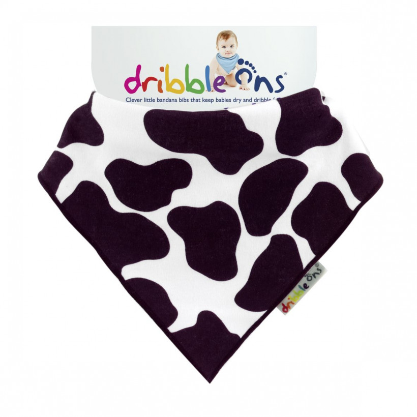 Dribble Ons Designer - Funny Cow 3x1szt. (Hurtowe opak.)