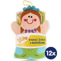 XKKO Pacynka kąpielowa (BA) - Mermaide 12x1szt. (Hurtowe opak.)