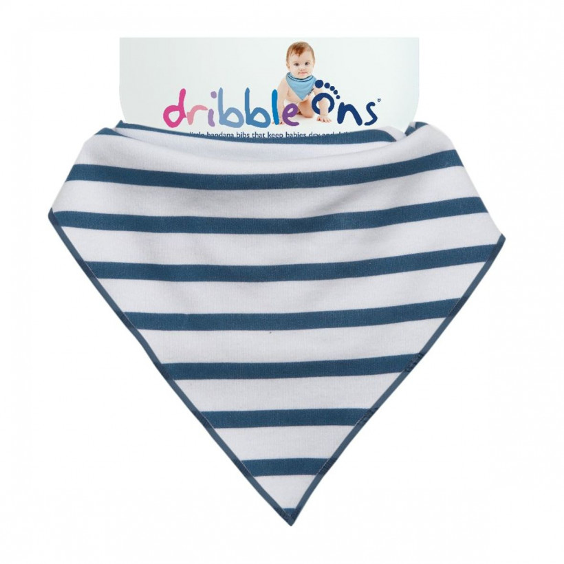 Dribble Ons Designer - Nautical Stripes