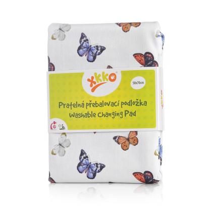 Zmywalny przewijak XKKO 50x70 - Butterflies