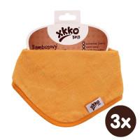 Bandanka bambusowa XKKO BMB - Orange 3x1szt. (Hurtowe opak.)