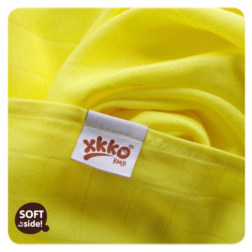 Bambusowe pieluchy XKKO BMB 70x70 - Colours 10x3st. (Hurtowe opak.)
