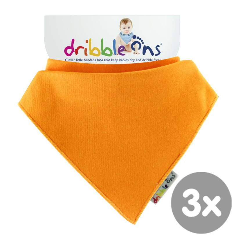Dribble Ons Brights - Orange 3x1szt. (Hurtowe opak.)