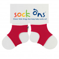 Sock Ons Bright - Red