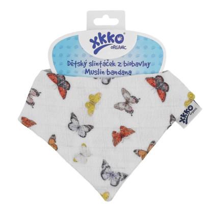 Bandanka XKKO Organic - Butterflies