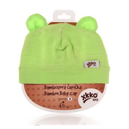 Czapka bambusowa XKKO BMB - Lime