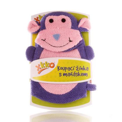 XKKO Pacynka kąpielowa (PE) - Monkey