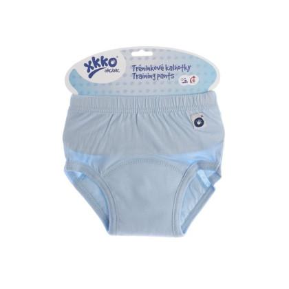 Majtki treningowe XKKO Organic - Baby Blue