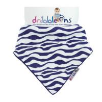 Dribble Ons Designer - Zebra