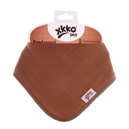 Bandanka bambusowa XKKO BMB - Milk Choco