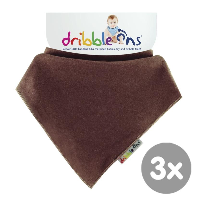 Dribble Ons Bright - Chocolate 3x1szt. (Hurtowe opak.)