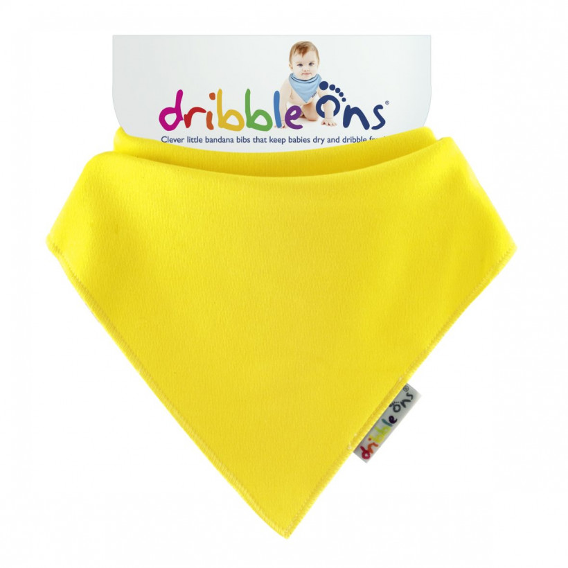 Dribble Ons Brights - Lemon