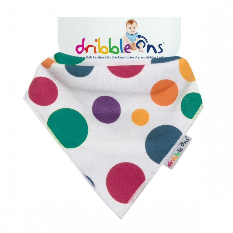 Dribble Ons Designer - Circus Spots 3x1szt. (Hurtowe opak.)