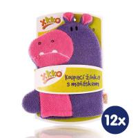 XKKO Pacynka kąpielowa (BA) - Hippo 12x1szt. (Hurtowe opak.)