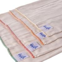 Prefoldy z bawełny organicznej XKKO Organic (4/8/4) - Infant Natural 6x6szt. (Hurtowe opak.)