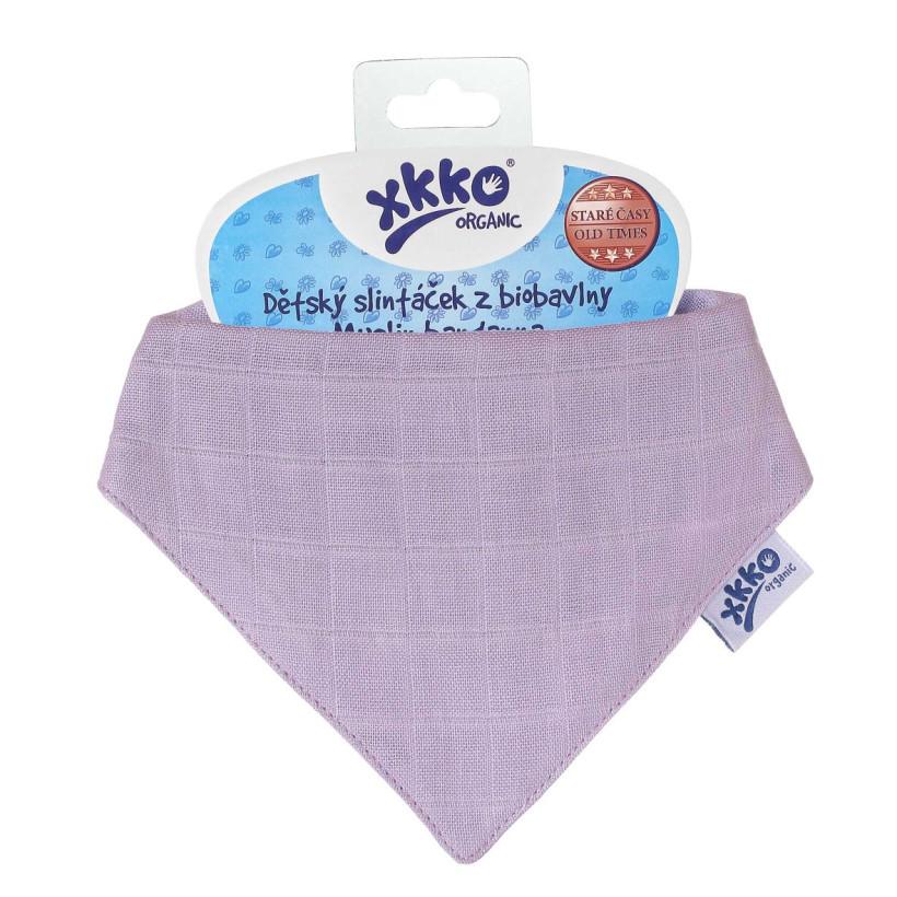 Bandanka XKKO Organic Stare Czasy - Ultra Violet