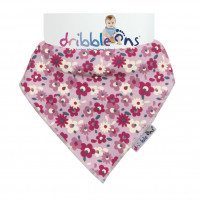 Dribble Ons Designer - Floral Ditsy