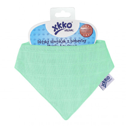 Bandanka XKKO Organic Stare Czasy - Light Green
