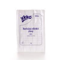 Bawełniane pieluchy muślinowe XKKO Classic 70x70 - Białe