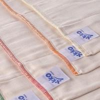 Prefoldy z bawełny organicznej XKKO Organic (4/8/4) - Premium Natural