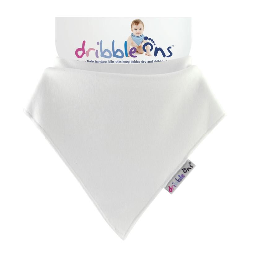 Dribble Ons Classic - White 3x1szt. (Hurtowe opak.)