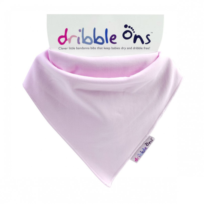 Dribble Ons Classic - Baby Pink