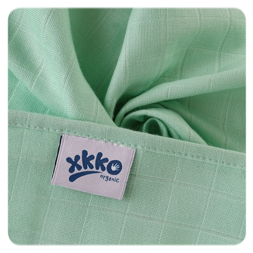 Pieluszki XKKO Organic 70x70 Organic Stare Czasy - Pastels for Boys 40x5szt. (Hurtowe opak.)