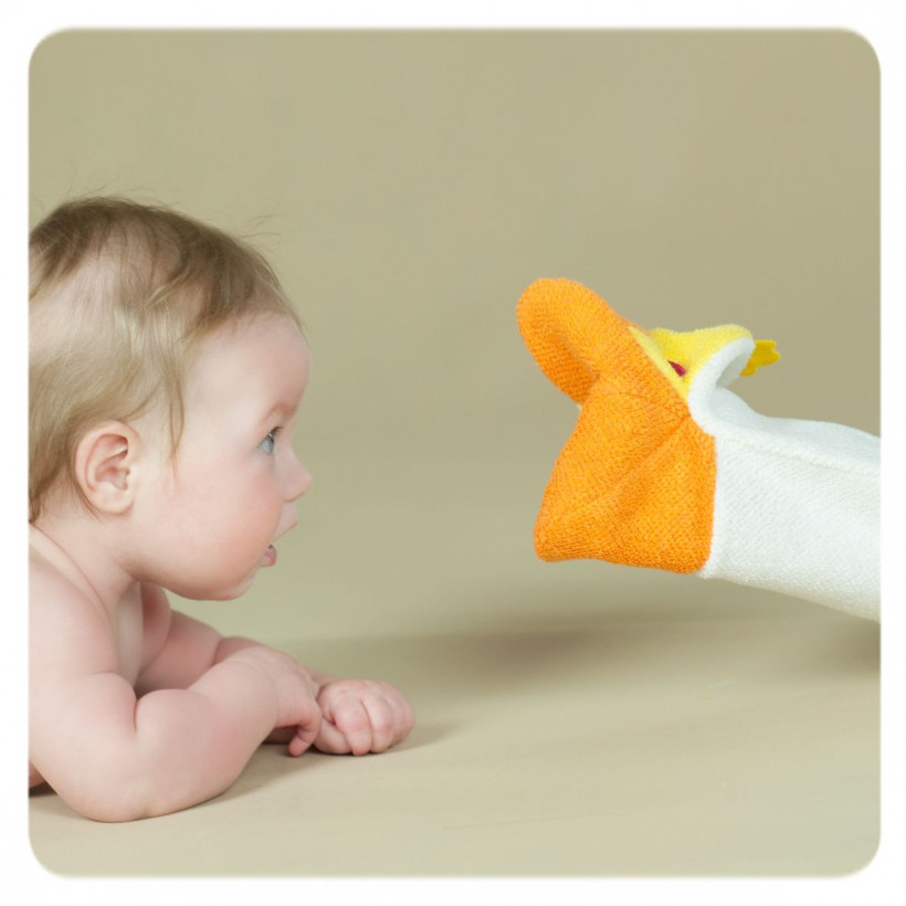 XKKO Pacynka kąpielowa (PE) - Duck