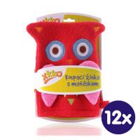 XKKO Pacynka kąpielowa (BA) - Owl 12x1szt. (Hurtowe opak.)